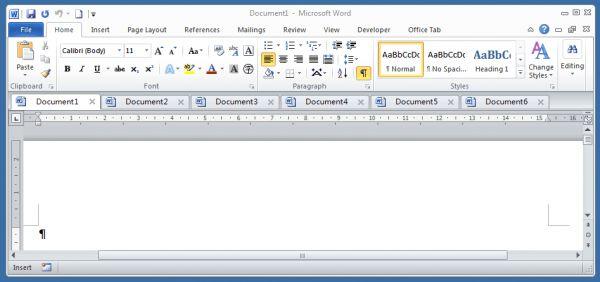 Download officetab enterprise full crack- phần mềm tạo tab cho word, excel