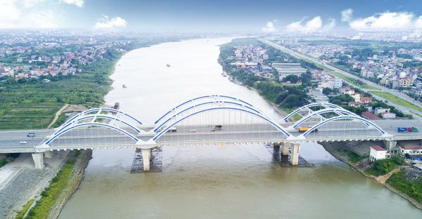 Cầu Đông Trù - Cầu Vòm ống thép nhồi BT (80+120+80)