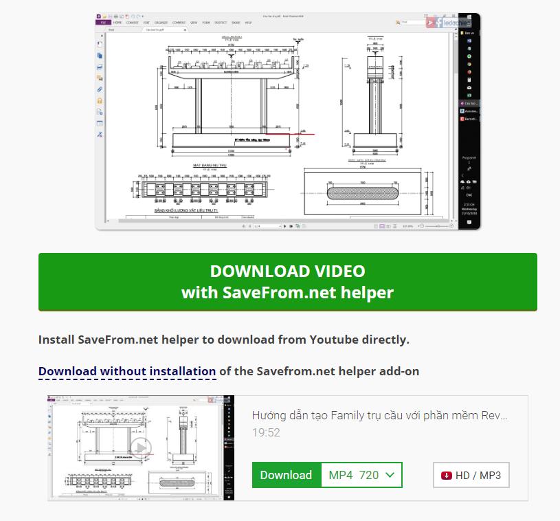 Thủ thuật tải video từ youtube không cần phần mềm