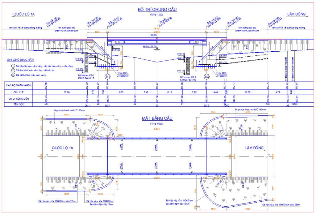 Hồ sơ thiết kế cầu dầm I dài 24m- Cầu sông Phan