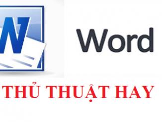 Các phím tắt trên word giúp bạn làm việc nhanh hơn