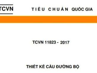 Trọn bộ tiêu chuẩn thiết kế cầu mới TCVN11823