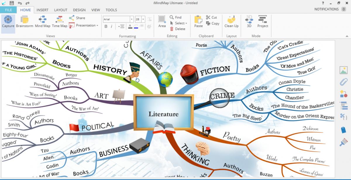 Phần mềm hỗ trợ vẽ bản đồ tư duy
