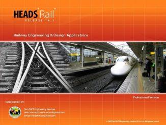 Phần mềm thiết kế đường sắt HEADS Rail