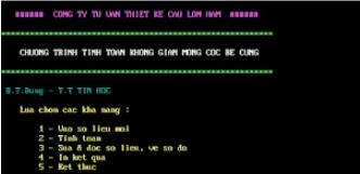 Hướng dẫn sử dụng phần mềm Mcoc