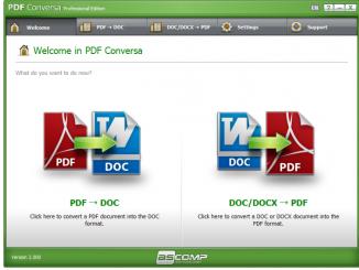 Phần mềm PDF Conversa - covert PDF to word
