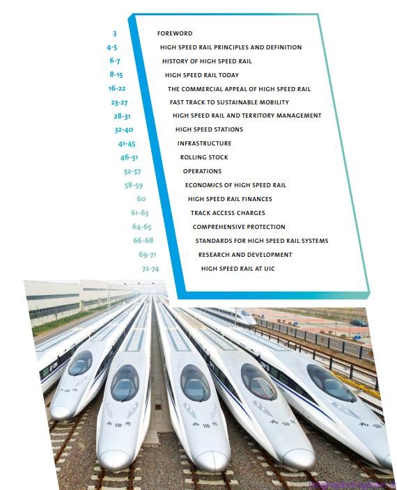 Tài liệu giới thiệu đường sắt tốc độ cao