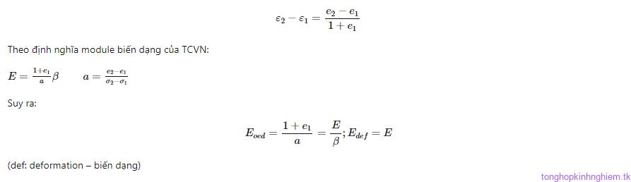 Hướng dẫn xác định thông số đầu vào khi tính toán bằng Plaxis