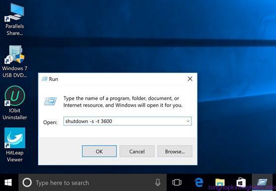 Phần mềm tắt máy tính từ xa