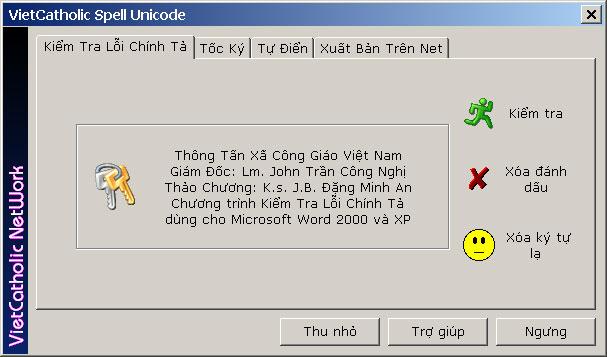 Phần mềm kiểm tra lỗi chính tả tiếng việt VcatSpell