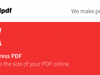 SmallPDF- ứng dụng trực tuyến nén file PDF
