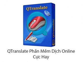 Phần mềm dịchQTranslate - miễn phí nhưng vô cùng lợi hại