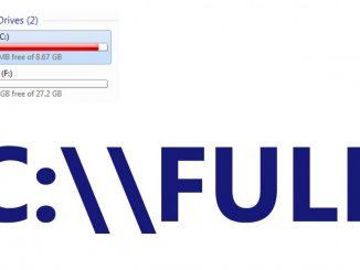 Cách xử lý khi ổ C máy tính bị đầy