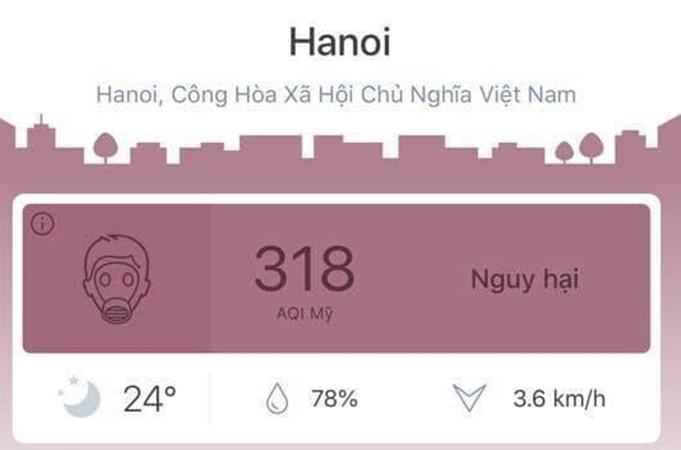 Ô nhiễm không khí liên tục ở ngưỡng có hại, chuyên gia khuyên người Hà Nội không tập thể dục buổi sáng