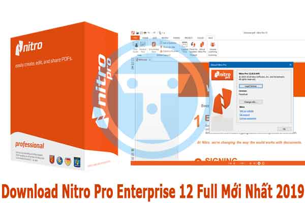 Phần mềm Nitro pro 12 mới nhất 2019