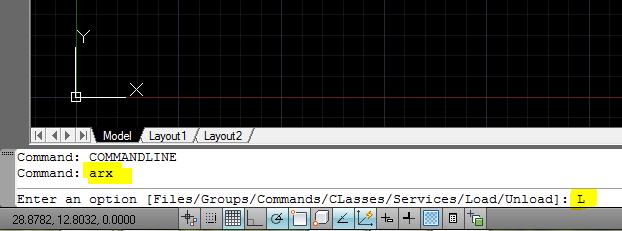 Khắc phục lỗi không thực hiện được lệnh appload trong CAD