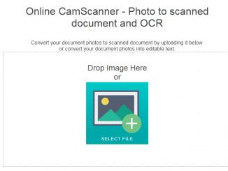 Biến ảnh chụp thành file scan bằng công cụ trực tuyến