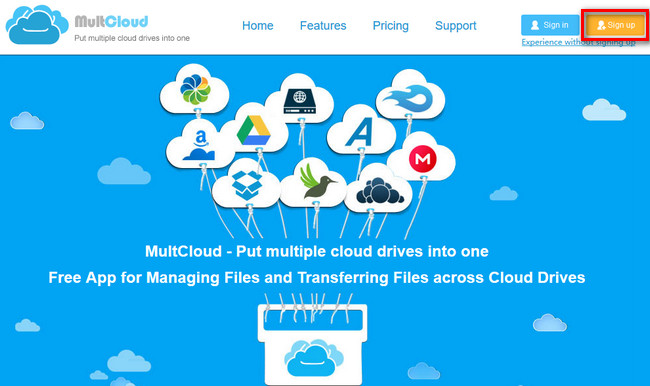MultCloud- quản lý nhiều dịch vụ lưu trữ đám mây