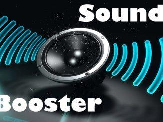 Sound Booster - phần mềm khuếch đại âm thanh cho máy tính