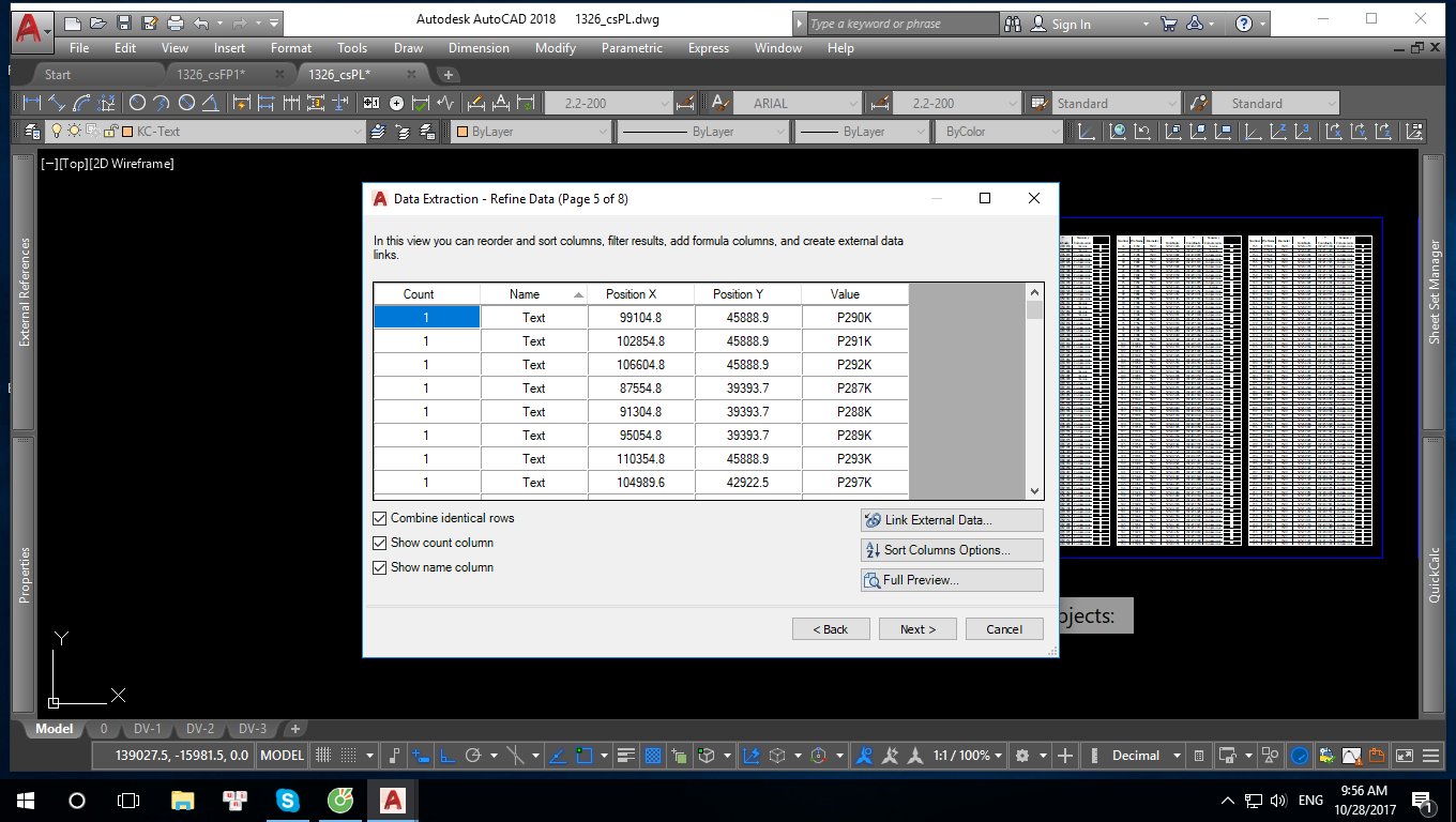 Hướng dẫn sử dụng Data Extraction trong AutoCAD
