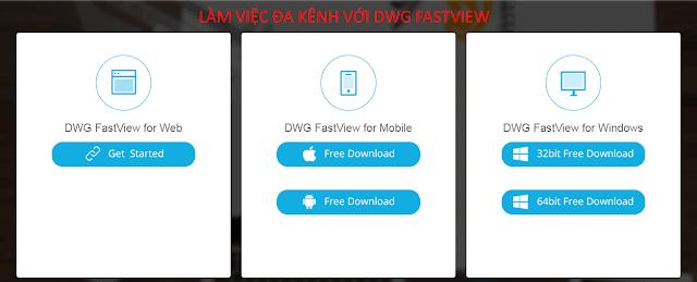 DWG FastView-Xem bản vẽ trên di động, trình duyệt hoặc máy tính