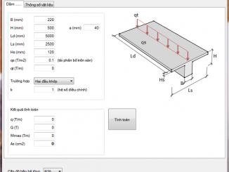 KCS QuickC- Phần mềm thiết kế cốt thép cho tường vây