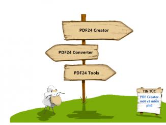 Phần mềm PDF24- phần mềm tạo file PDF tuyệt vời nhất