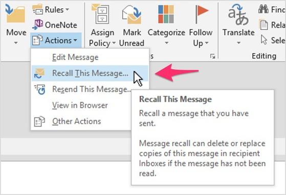 Cách để lấy lại email khi lỡ tay ấn gửi