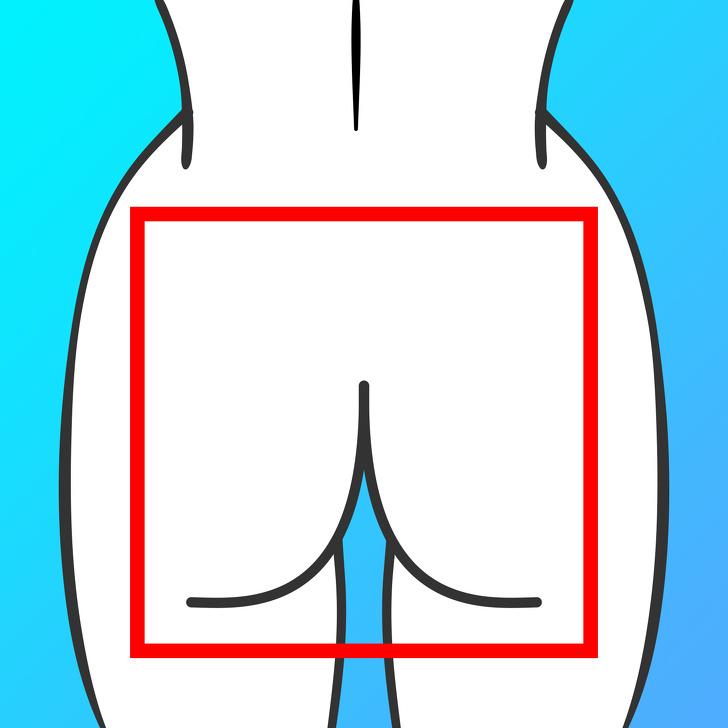 Hình dạng của mông phản ánh tình trạng sức khỏe của bạn