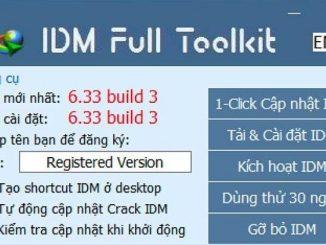 DM Full Toolkit- Công cụ tự động cài đặt và kích hoạt bản quyền IDM