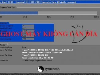 Onekey ghost- Ghost máy tính không cần đĩa boot