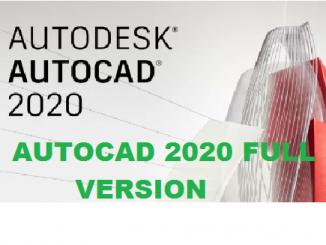 Bộ cài autocad 2020 full version