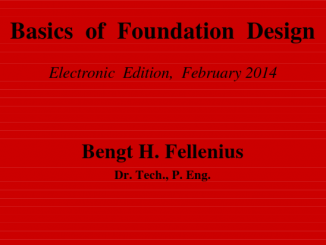 Ebook- Basic of foundation design