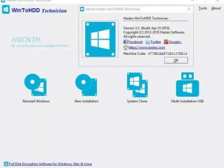 WinToHDD full- phần mềm cài đặt và clone window