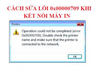 Cách sửa lỗi win10 không kết nối được máy in mạng Lan