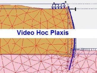 Video hướng dẫn tính bằng phần mềm Plaxis