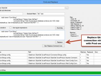 Free Find And Replace-tìm kiếm và đổi tên file hàng loạt