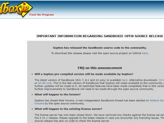 Phần mềm Sandboxie- tạo môi trường sandbox cho máy tính