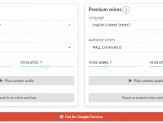 Công cụ hỗ trợ chuyển văn bản thành giọng nói