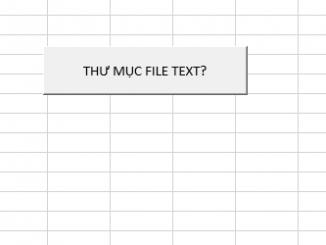 Gộp nhiều file text thành 1 file excel