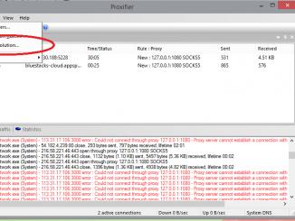 Proxifier - phần mềm ẩn IP