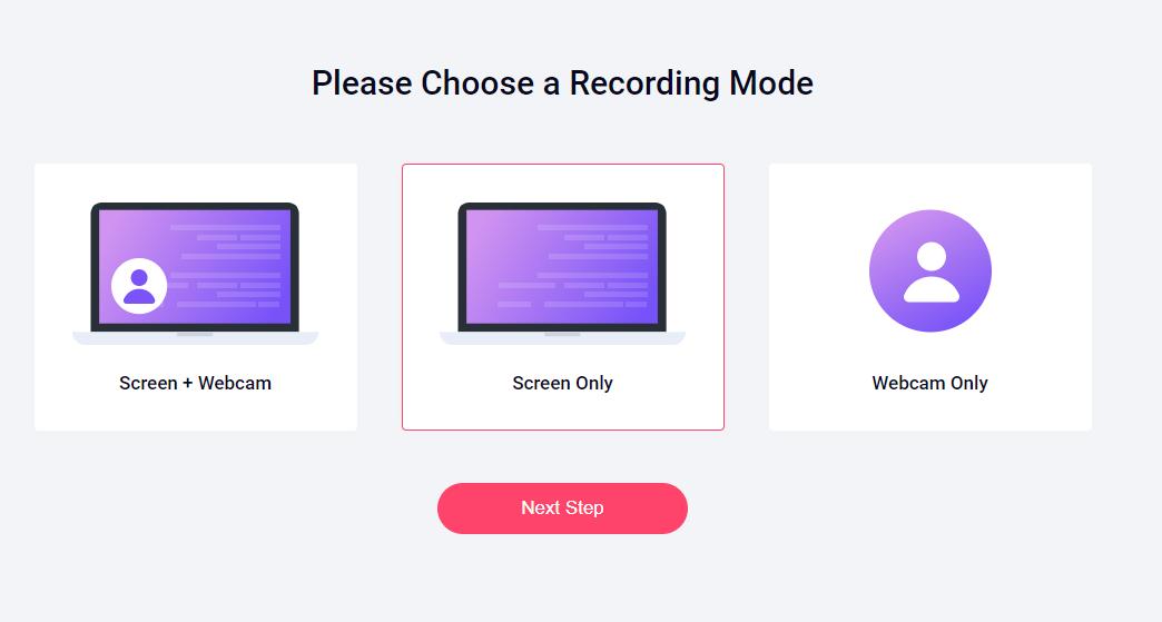 RecordCast - tiện ích quay video màn hình không cần cài đặt