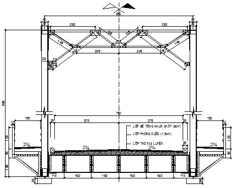 File tham khảo: Thuyết minh thiết kế cầu giàn thép + dầm thép liên hợp