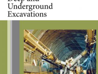 Book: Deep and underground excavation- Fuvio Tonon